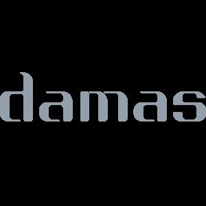Diamond Star Chain Necklace in 18K White Gold
